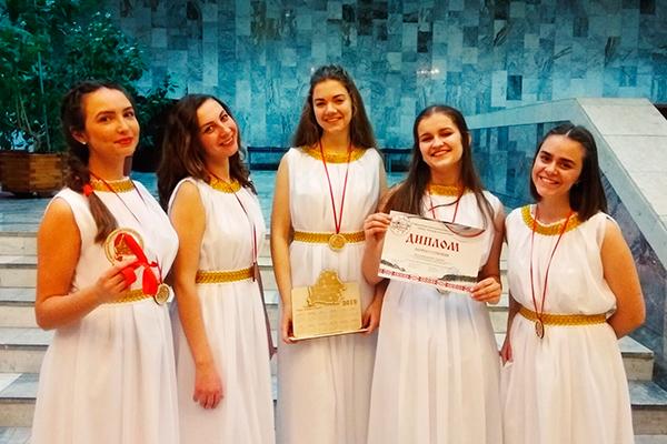 Вокальная группа «Cantare» – участник V республиканского конкурса