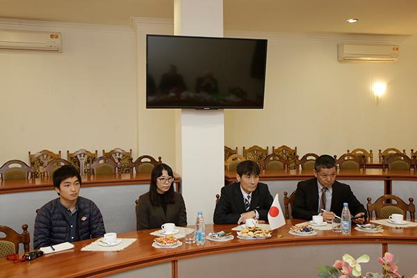 Визит делегации Университета г. Нагасаки