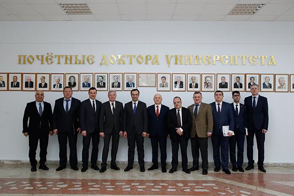 Визит делегации Министерства здравоохранения Республики Армения