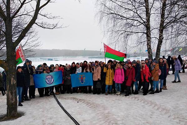 Студенты БГМУ приняли участие в спортивном празднике