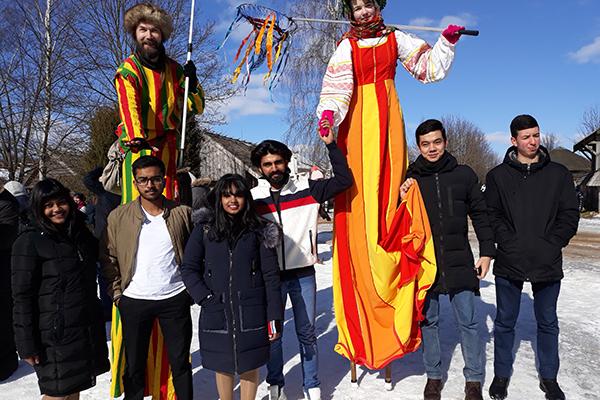 Иностранные студенты БГМУ