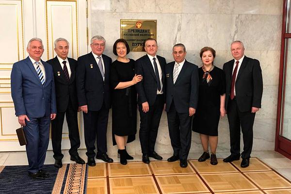 Профессор Наумович С.А. награжден премией Правительства Российской Федерации 2018 года