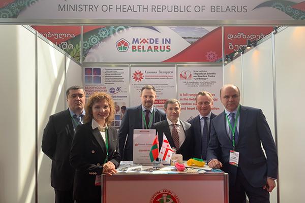 Участие делегации БГМУ в первом заседании Белорусско-Грузинской Комиссии