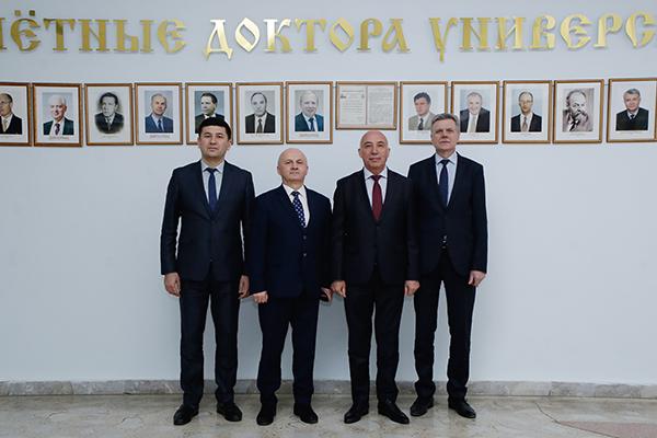 Визит Министра здравоохранения Республики Узбекистан Шадманова А. К.