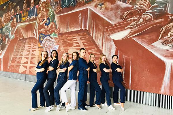 """Команда БГМУ """"O&G Unity"""" на III Всероссийской студенческой Олимпиаде по акушерству и гинекологии"""