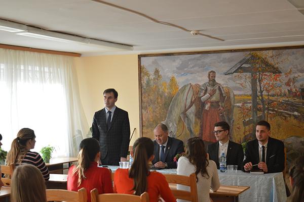 Встреча студентов-медиков с заместителем главы администрации Московского района