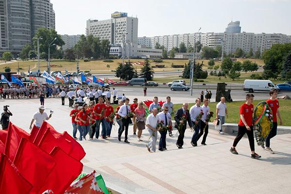 Участие студентов университета в Церемонии торжественного старта