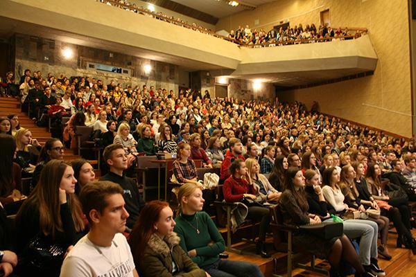 Встречи студентов лечебного факультета