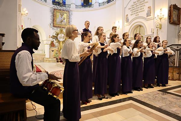 Студенческий интернациональный хор Белорусского государственного медицинского университета
