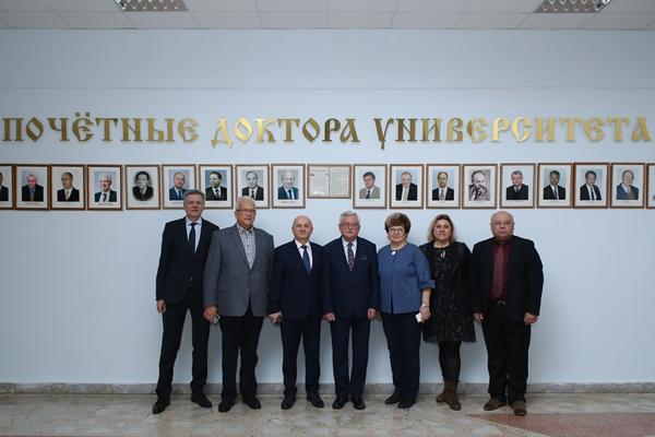 Визит делегации Высшей медицинской школы в Белостоке (Республика Польша)