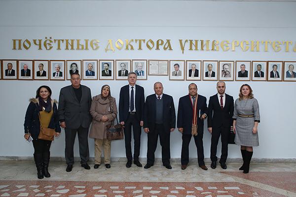 Визит делегации Всеобщего профсоюза здравоохранения Египта