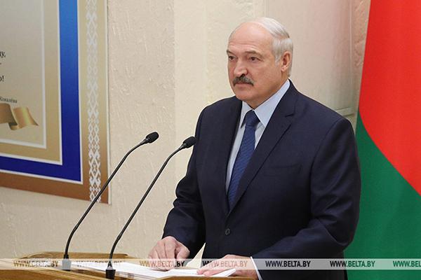 Посещение Белорусского государственного медицинского университета Главой государства