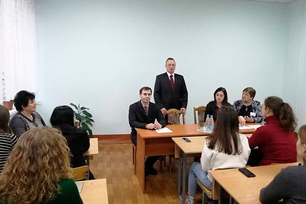 Встреча с главой администрации Советского района