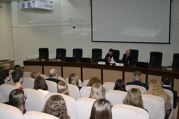 Встреча с коллективом работников и студентов