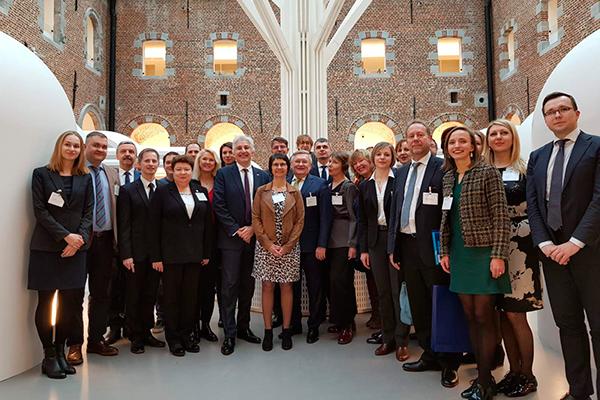 Контактные дни «Беларусь-Бельгия»: визит делегации представителей учреждений высшего образования