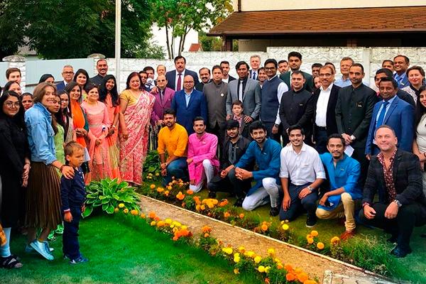 Прием в Посольстве Республики Индия в Республике Беларусь, приуроченный ко Дню независимости Индии