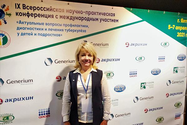 Доцент Жанна Кривошеева обсудила с иностранными коллегами вопросы профилактики, диагностики и лечения туберкулеза у детей и подростков