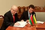 Визит делегации медицинского факультета Вильнюсского университета
