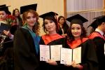 Торжественная церемония посвящения выпускников медицинского факультета иностранных учащихся