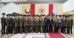 Церемония вручения офицерских погон