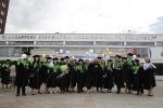 Торжественная церемония посвящения выпускников