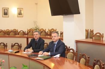 Руководители БГМУ и Холонского технологического института