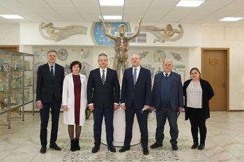 Чрезвычайный и Полномочный Посол Государства Израиль в Республике Беларусь посетил ведущий медицинский университет