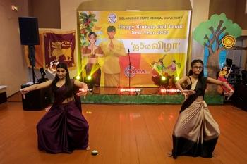 Новый год Шри-Ланки в главной Альма-матер врачей