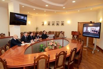 Проблемы медицины и фармации в поле зрения участников совместной видеоконференции БГМУ и Государственного медицинского университета Туркменистана