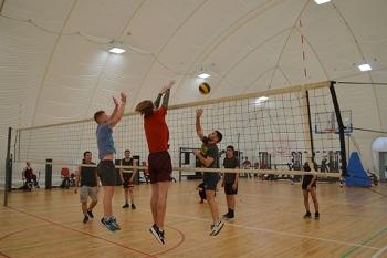 Волейбольные баталии в БГМУ