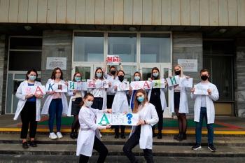 Кафедра эпидемиологии присоединилась к общереспубликанскому флешмобу #«Я – вакцинировался. А ты?»