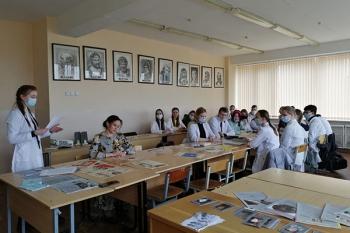 Воспоминаниями о войне в своей семье поделились студенты лечебного факультета БГМУ