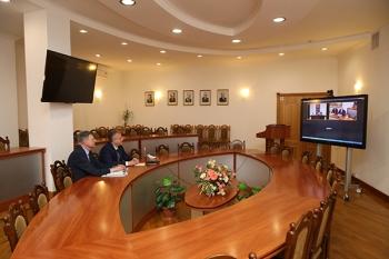 Встреча ректоров ведущих медицинских университетов Беларуси и Туркменистана: взгляд в будущее
