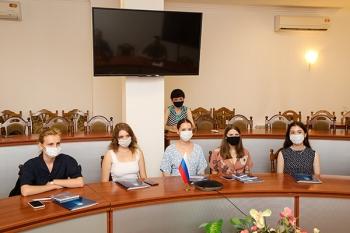Студенты из Санкт-Петербурга проходят практику в Белорусском государственном медицинском университете