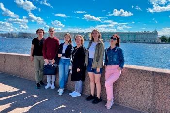 Студенты БГМУ практиковались в гигиене и эпидемиологии в Северной столице России