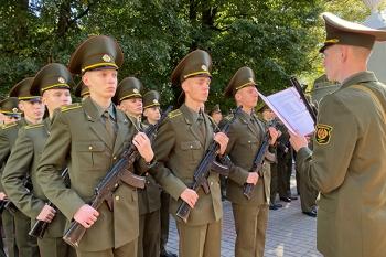 «Я, гражданин Республики Беларусь, торжественно клянусь быть преданным своему народу»