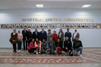 Сотрудничество БГМУ и Арабской академии науки, технологий и морского транспорта активно развивается