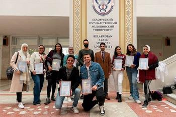 Студенты из Арабской академии науки, технологий и морского транспорта успешно прошли практику в БГМУ