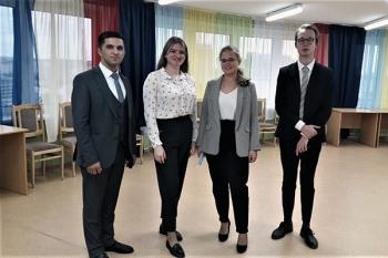 Председатель студенческого совета Ташкентской медицинской академии посетил Белорусский государственный медицинский университет