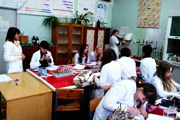 На кафедре общей химии, 2011 год