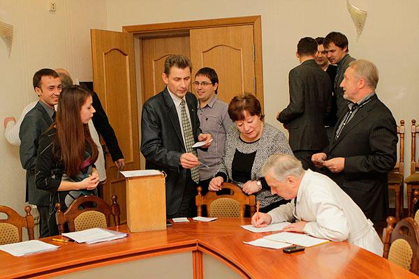 Первое заседание Совета профориентации и довузовской подготовки, ноябрь 2012