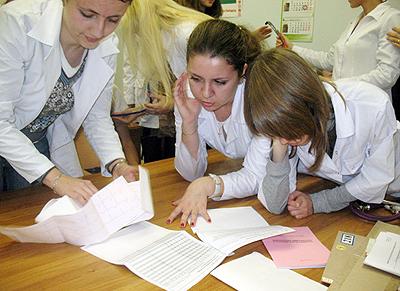 Обсуждение результатов мониторирования артериального давления со студентами 6 курса педиатрического факультета