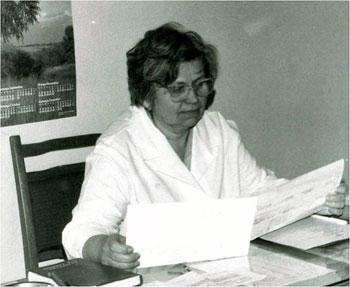 Профессор Нелли Ивановна Артишевская