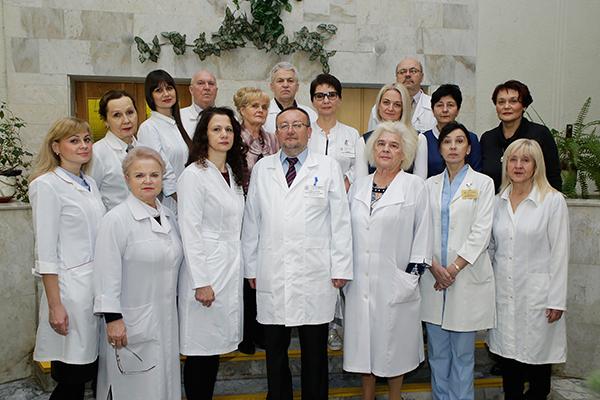 Сотрудники 1-й кафедры внутренних болезней