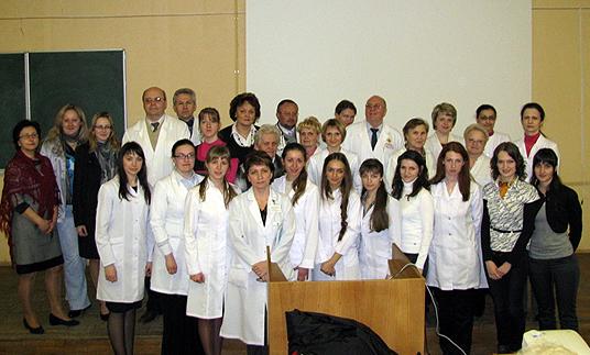 Участники 65 научно-практической конференции студентов и молодых ученых с международным участием 2011г