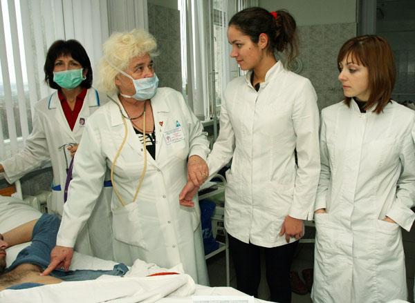 Обход в кардиологическом отделении № 2