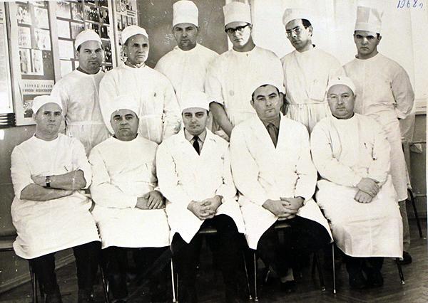 Колектив кафедры 1968 г.