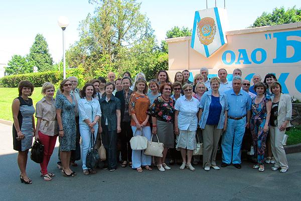 Выездная конференция по вопросам детского питания на базе производителя в Волковысском ОАО «Беллакт»