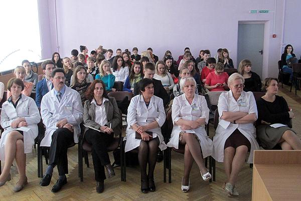 Жюри и участники конференции