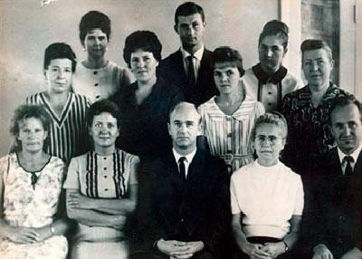 Сотрудники кафедры госпитальной терапии МГМИ